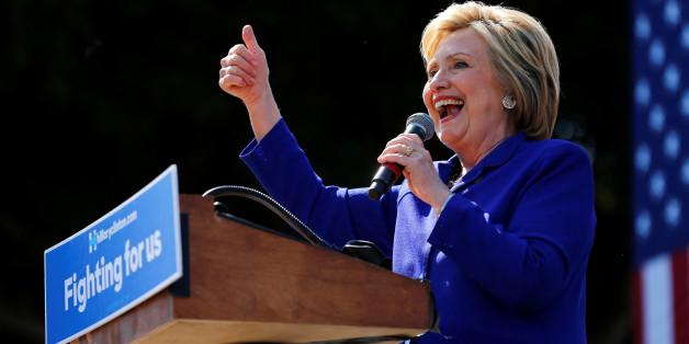 Hillary Clinton hat die nötigen Delegiertenstimmen für ihre Kandidatur sicher