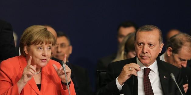 Die Bundeskanzlerin hat Erdogans Kritik zurückgewiesen