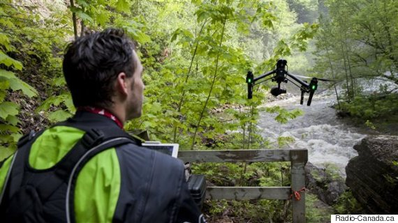 kayak drone