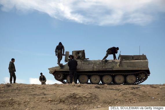 kurds syria fight