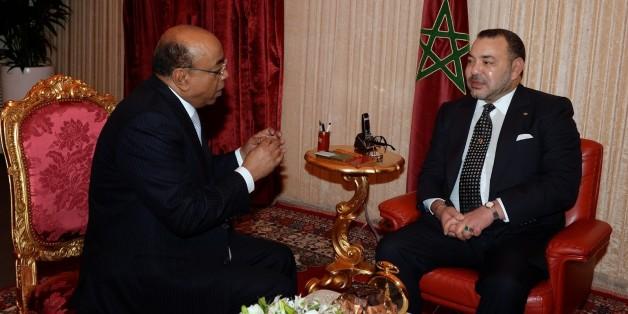 Mo Ibrahim a été décoré par le roi Mohammed VI en 2014