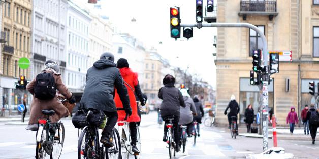 Eine App soll Radfahrer rote Ampeln ersparen
