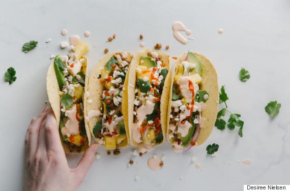 lentil taco