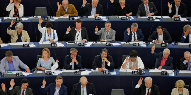 Members of the European Parliament take part in a voting session in Strasbourg, France, June 7, 2016. REUTERS/Vincent Kessler