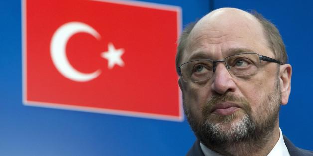 Martin Schulz hat einen Brandbrief an Erdogan geschrieben