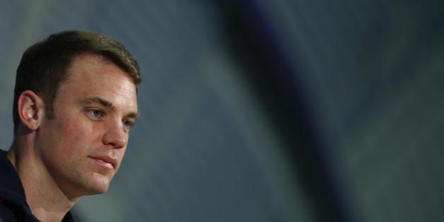 Pressekonferenz mit Manuel Neuer, Jonas Hector, Manager Oliver Bierhoff und Scout Christofer Clemens