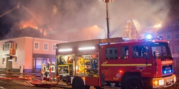 Deux Marocains accusés d'avoir mis le feu à un foyer de réfugiés en Allemagne