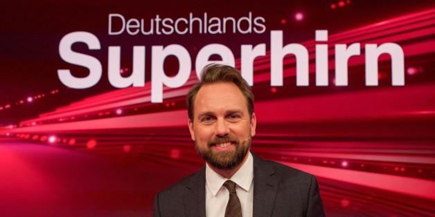 Steven Gätjen präsentiert Deutschlands Superhirn