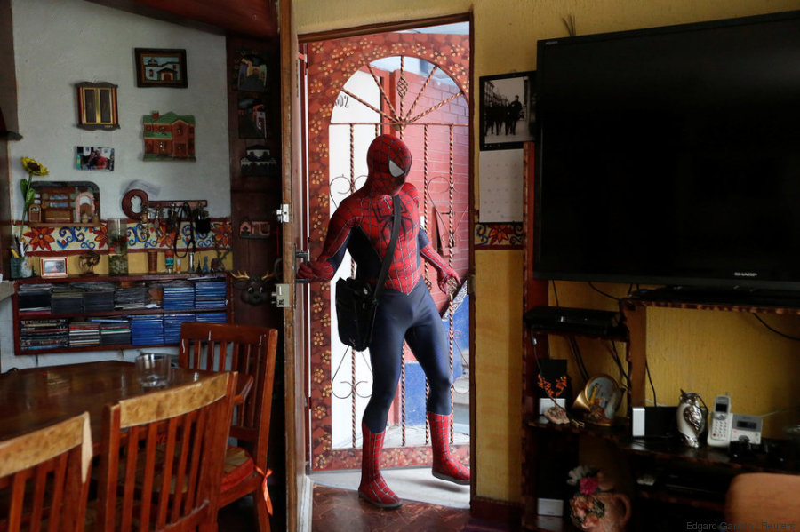 spiderman profesor mexico