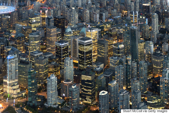 canada financial district