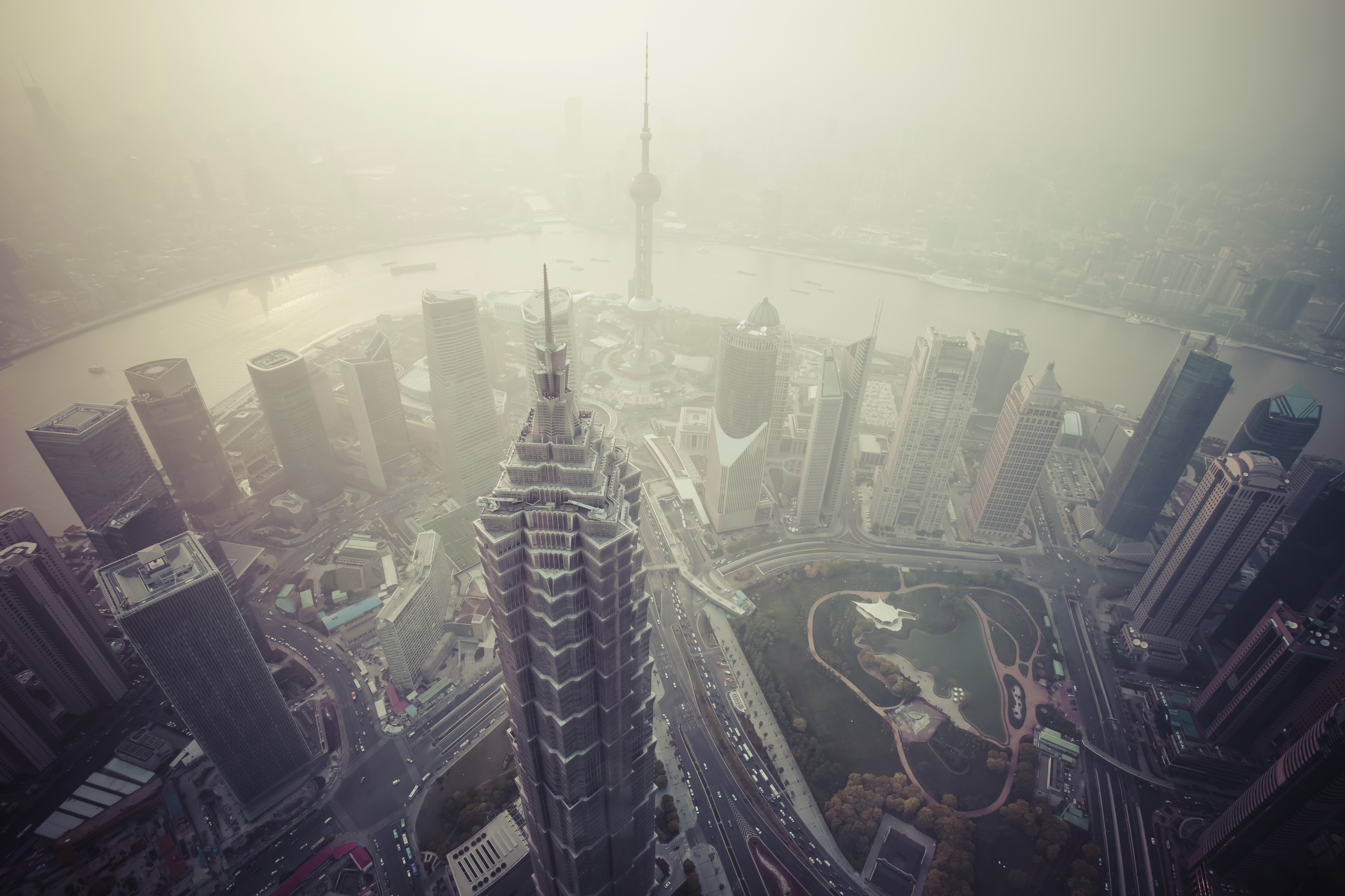 air pollution shanghai