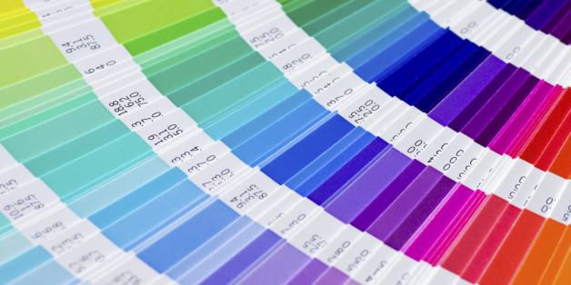 open Pantone sample colors catalogue