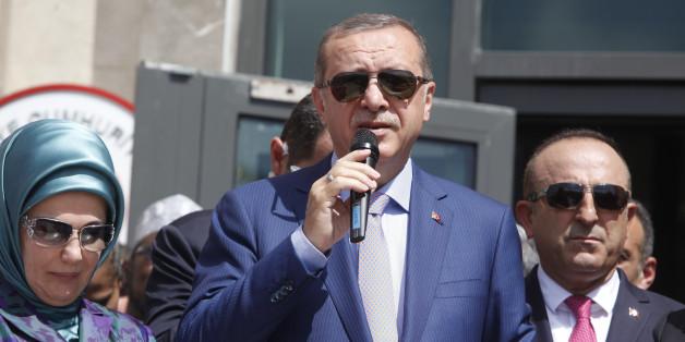 Präsident Erdogan ist aktuell nicht gut auf deutsch-türkische Parlamentarier zu sprechen