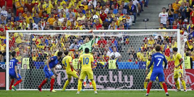 Frankreich gegen Rumänien