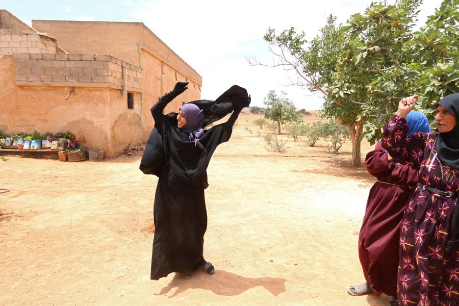 niqab syrie