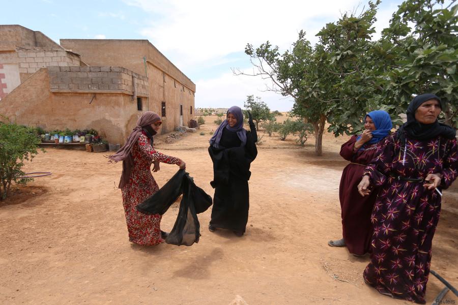 niqab daech