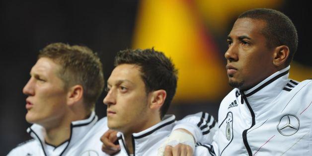 Warum die DFB-Stars die deutsche Nationalhymne nicht mitsingen müssen