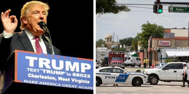 Wie Donald Trump vom Blutbad in Florida profitiert