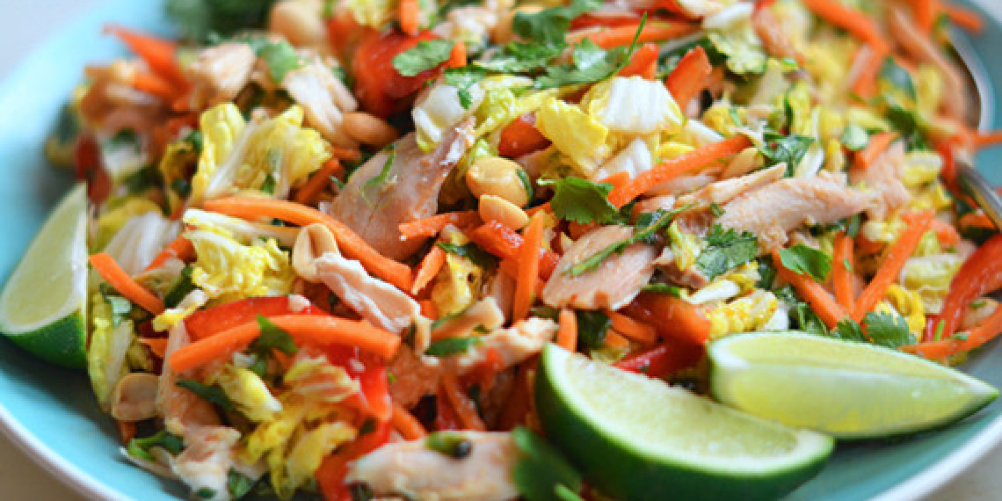 Салат из пекинской капусты курицей