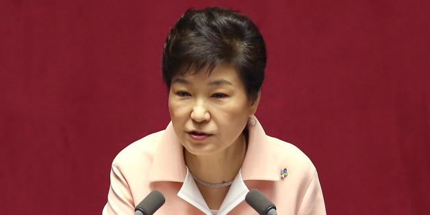 박근혜 대통령이 13일 오전 국회에서 열린 20대 국회 개원식에서 개원 연설을 하고 있다.