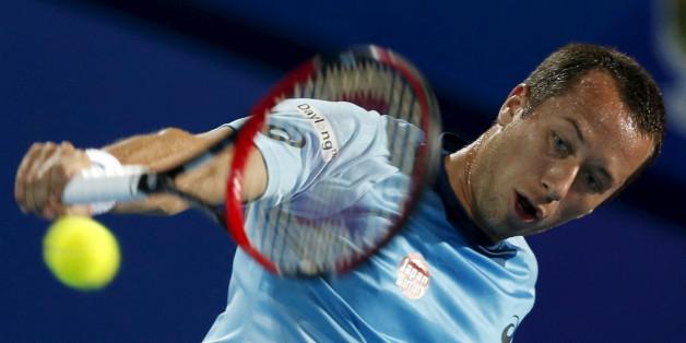 Philipp Kohlschreiber spielt im ATP-Turnier in Stuttgart das Finale gegen Thiem aus Österreich aus
