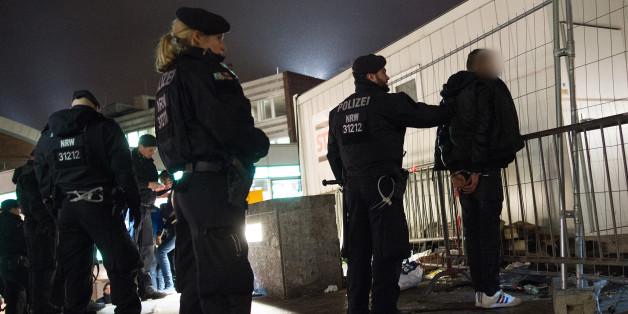 Symbolbild: Festnahme bei den Silvester-Übergriffen von Köln