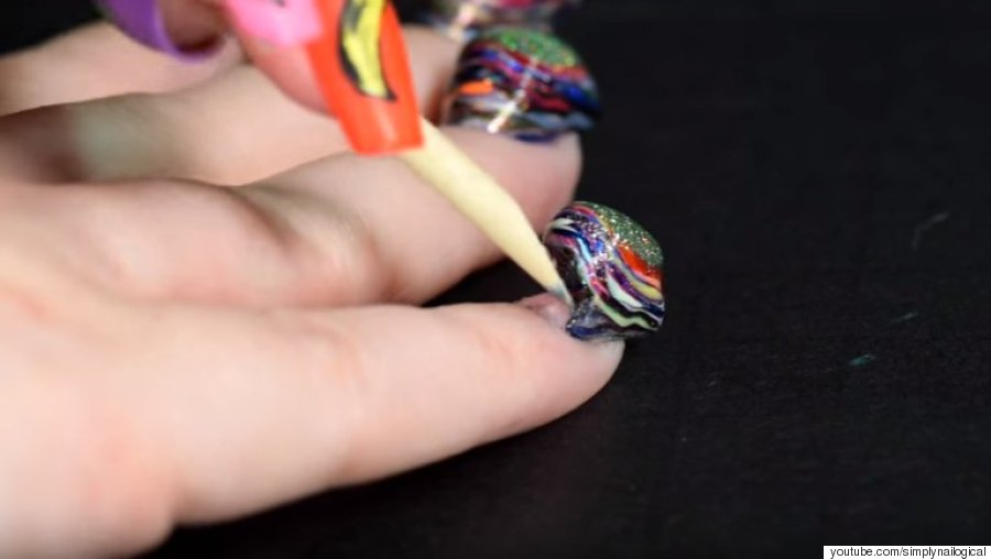 YouTuber Cristine Of Simplynailogical Applies 116 Coats Of Nail ...