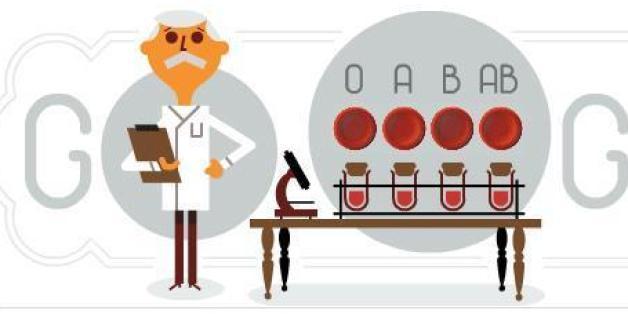 Google feiert den Weltblutspendertag mit einem Doodle