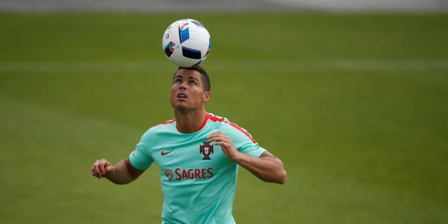 Cristiano Ronaldo spielt für Portugal in der Gruppe F gegen Island, Österreich und Ungarn