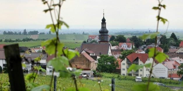 Le village de Kallstadt, dans le sud de l'Allemagne, le 8 juin 2016