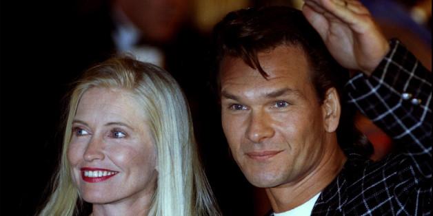Der verstorbene Patrick Swayze mit seiner Ehefrau Lisa Niemi.