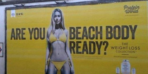 Dünne Models: In der Londoner U-Bahn sind sie bald nicht mehr zu sehen