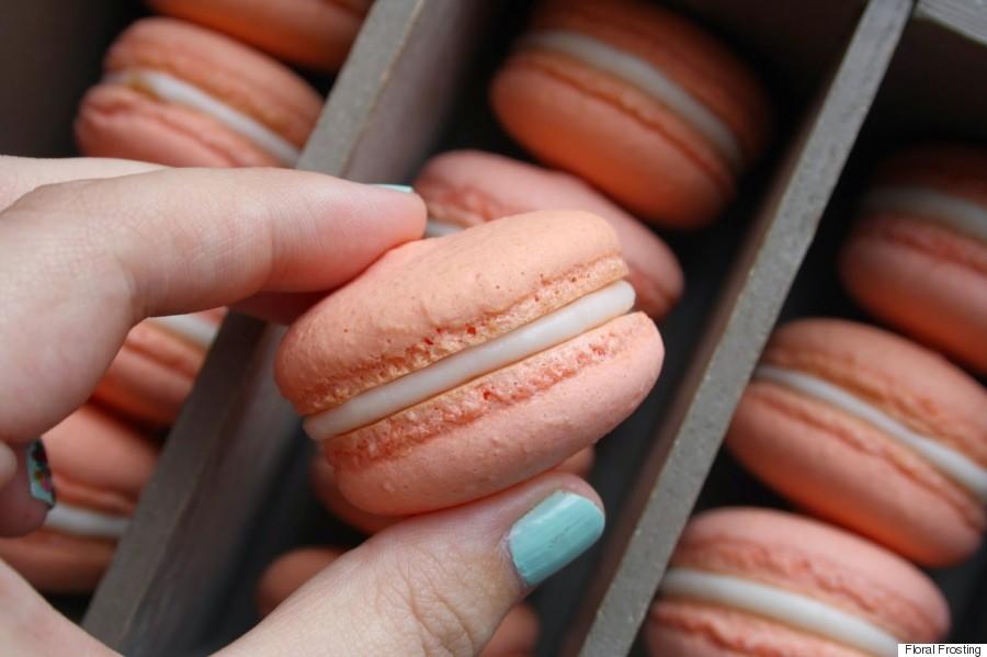 aquafaba macarons