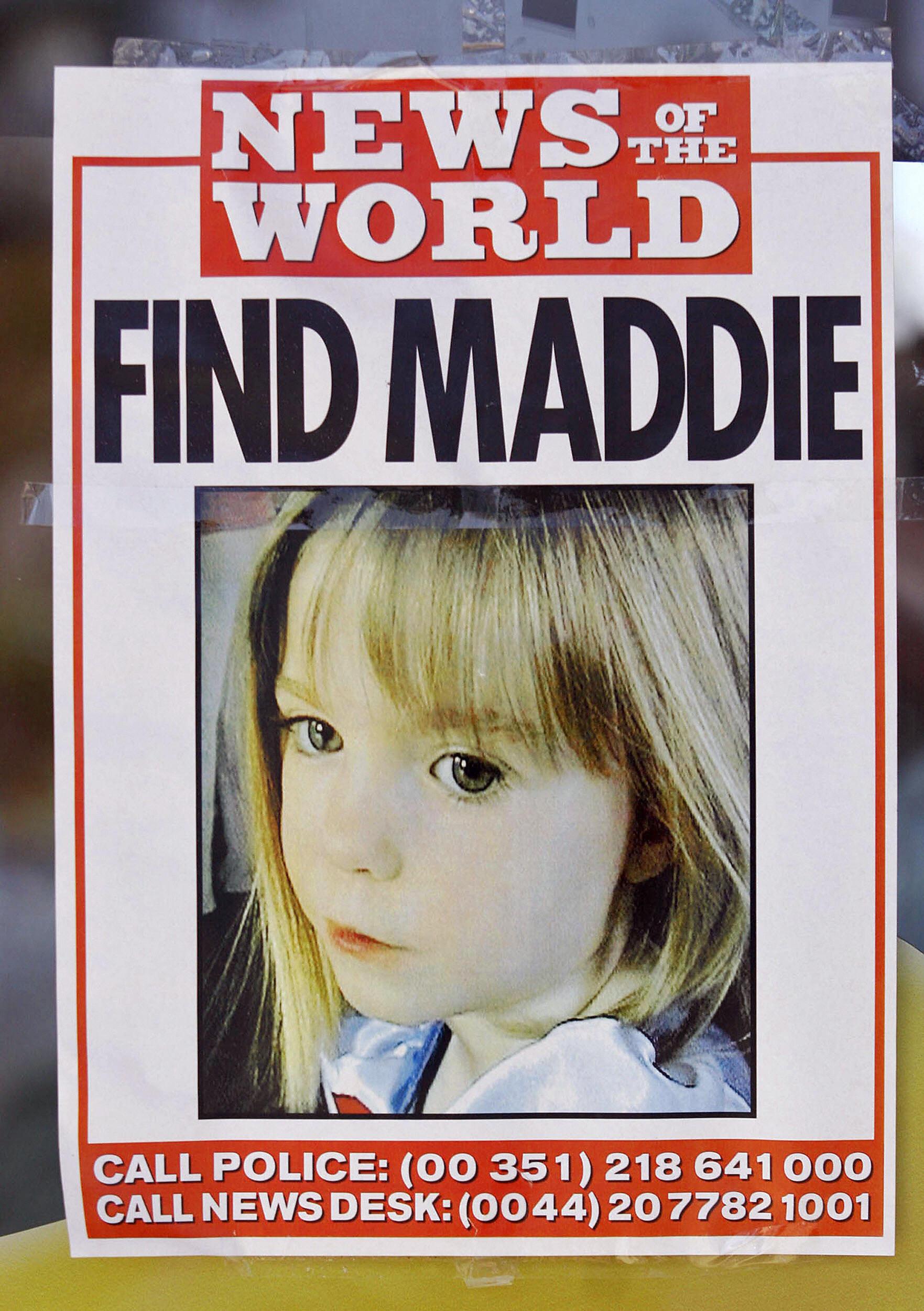 madeleine mccann picture
