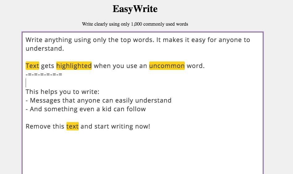 easy write