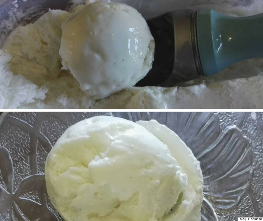 aquafaba ice cream