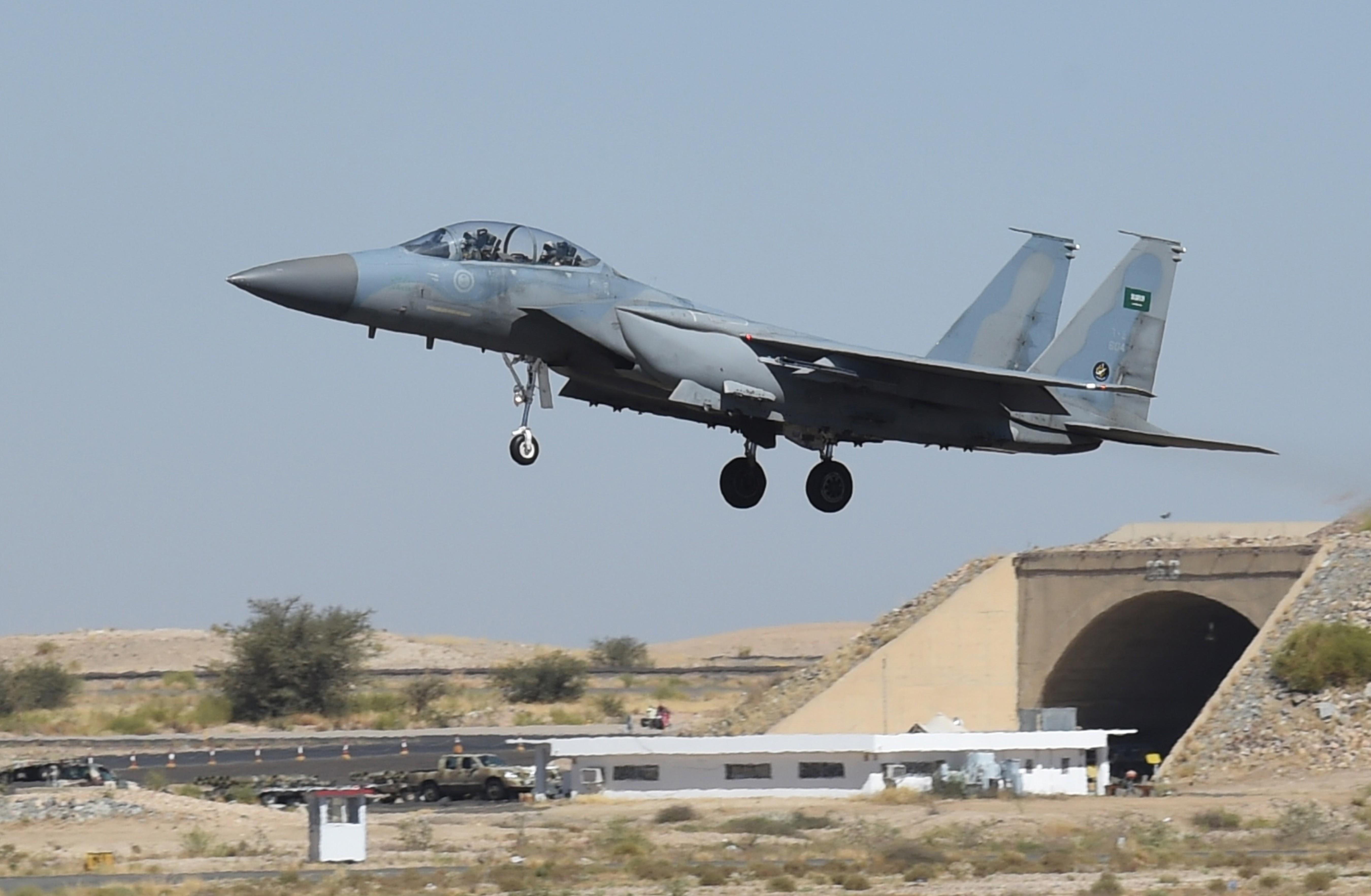 saudi fighter jet