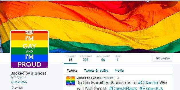 Hunderte IS-Accounts wurden gehackt und schimmern jetzt in Regenbogen-Farben