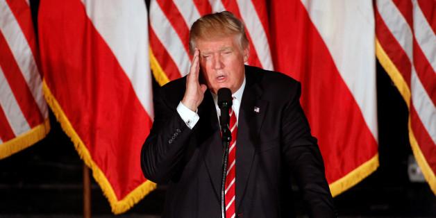 Der republikanische Präsidentschaftsbewerber Donald Trump