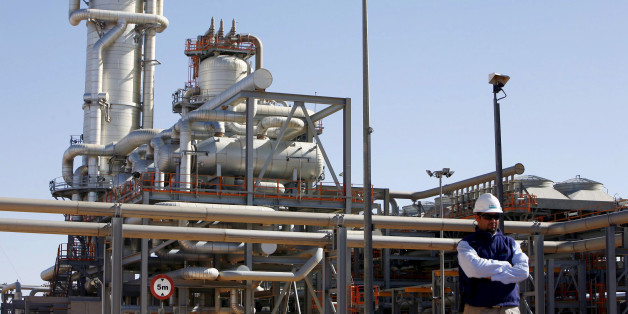 A technician stands at the Krechba gas treatment plant, south of Algiers, December 14, 2008. REUTERS/Zohra Bensemra/File Photo