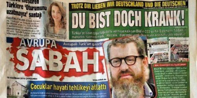 """Erdogans Medienschlacht: Türkische Zeitung hetzt gegen die """"Bild"""""""