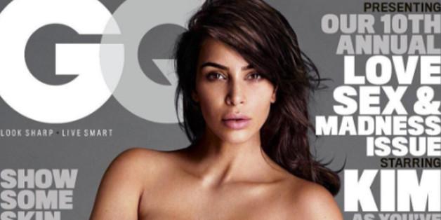 Auf dem Cover der GQ zeigt sich Kim Kardashian sexy