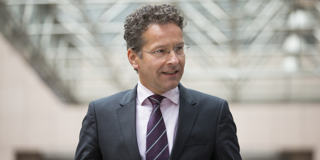 Jeroen Dijsselbloem, Dutch finance minister and head of the group of euro-area finance ministers, arrives to give a statement prior to a Eurogroup meeting of European finance ministers in Brussels, Belgium, on Tuesday, May 24, 2016. Five years after handing Greece the biggest sovereign-debt write-off in history, European policy makers have come full circle to the point they had all hoped to avoid: a real discussion on debt relief. Photographer: Jasper Juinen/Bloomberg via Getty Images