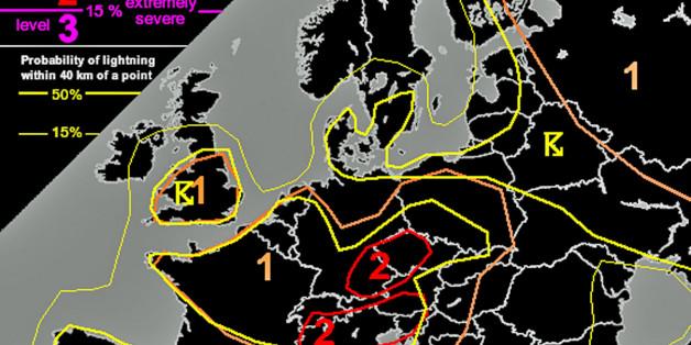 Tornado-Gefahr: In dieser Region gilt die zweithöchste Alarmstufe