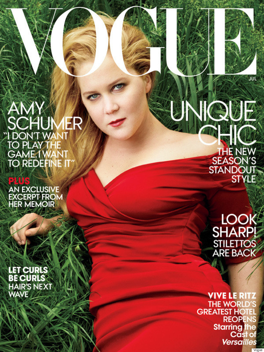 amy schumer vogue