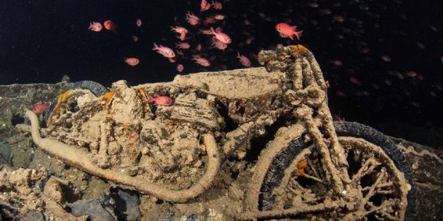 Fotograf entdeckt Wrack: Die Bilder sind gruselig - und magisch