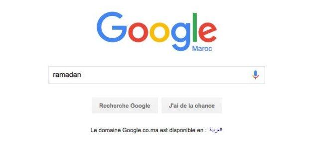 Ce que recherchent les Marocains sur Google pendant le ramadan