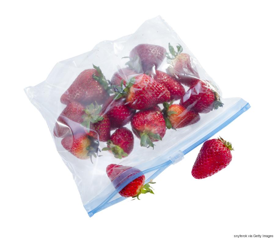 fruit ziplock bag