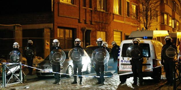 Mega-Razzia in Belgien: 12 Terrorverdächtige festgenommen
