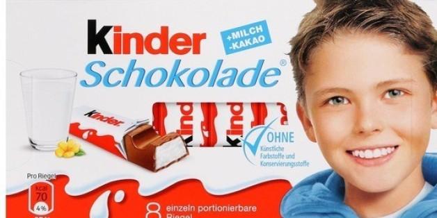 Der zehnjährige Batson auf der Kinderschokoladen-Verpackung